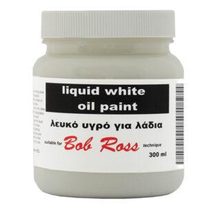 Λευκό Υγρό για τεχνική Bob Ross 300ml