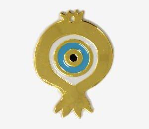 Μεταλλικό Ρόδι με μάτι 4,5χ6,5εκ.