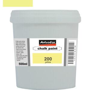 Χρώμα Κιμωλίας 200 Yellow 500ml
