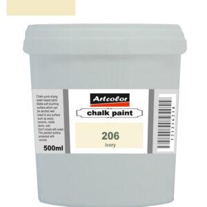 Χρώμα Κιμωλίας 206 Ivory 500ml