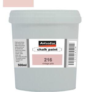 Χρώμα Κιμωλίας 216 Vintage Pink 500ml