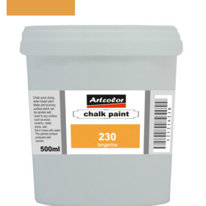 Χρώμα Κιμωλίας 230 Tangerine 500ml