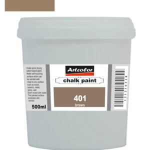 Χρώμα Κιμωλίας 401 Brown 500ml