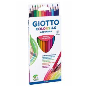 Ξυλομπογιές Ακουαρέλας Giotto 24χρ