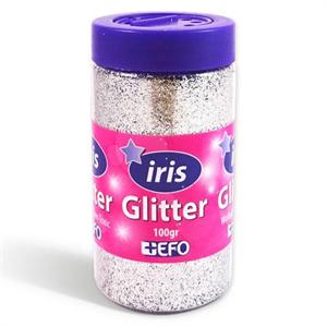 Glitter Ασημί
