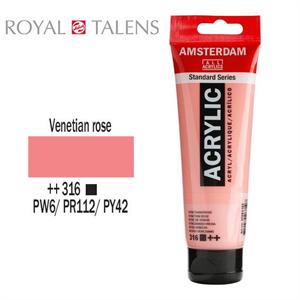 Ακρυλικό Talens Amsterdam 316 Venetian Rose 120ml