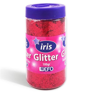 Glitter Κοκκινο
