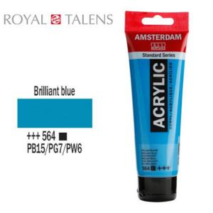 Ακρυλικό Talens Amsterdam 564 Brilliant Blue 120ml