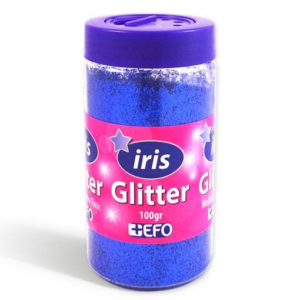Glitter Μπλε