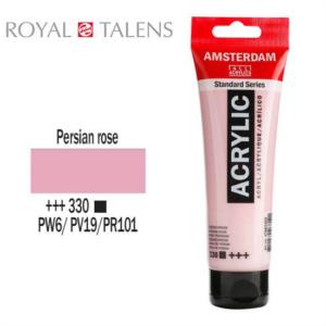 Ακρυλικό Talens Amsterdam 330 Persian Rose 120ml