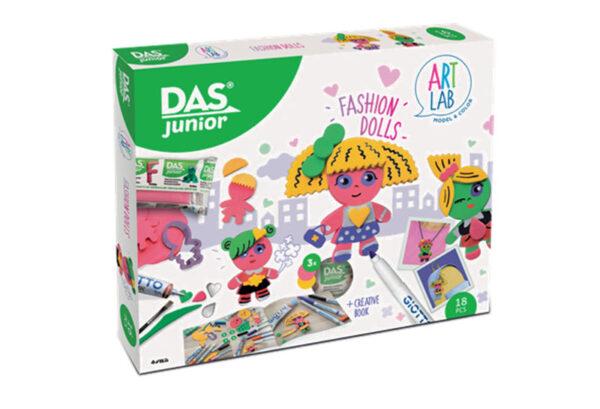 Σετ Χειροτεχνίας Fashion Dolls Das Junior Art Lab