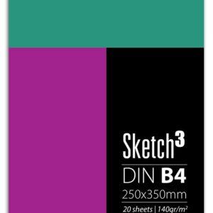 Μπλοκ Σχεδίου DIN B4 25X35cm