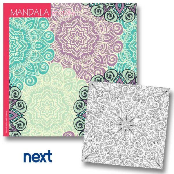 Βιβλίο Mandala Motif 23x23εκ.